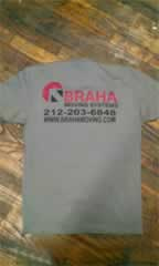 Custom shirt printing store in New York City USA fast and cheap